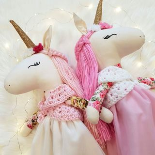 Custom Made Unicorn Doll