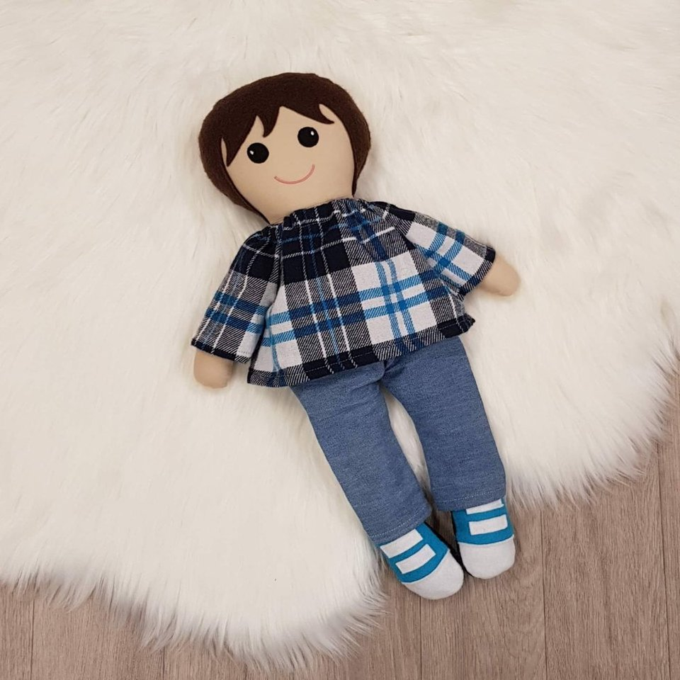 Custom Made Big Brother Doll