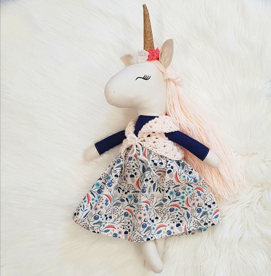 Winter the Unicorn Doll