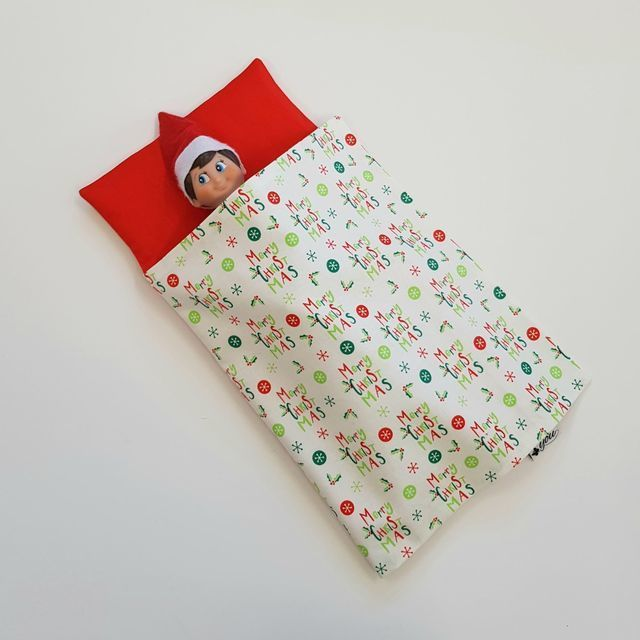 Elf Bed - Merry Christmas